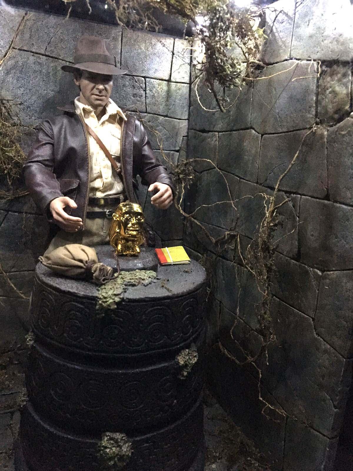 Jhmodelator diorama en busca del arca perdida indiana jones for En busca del arca perdida