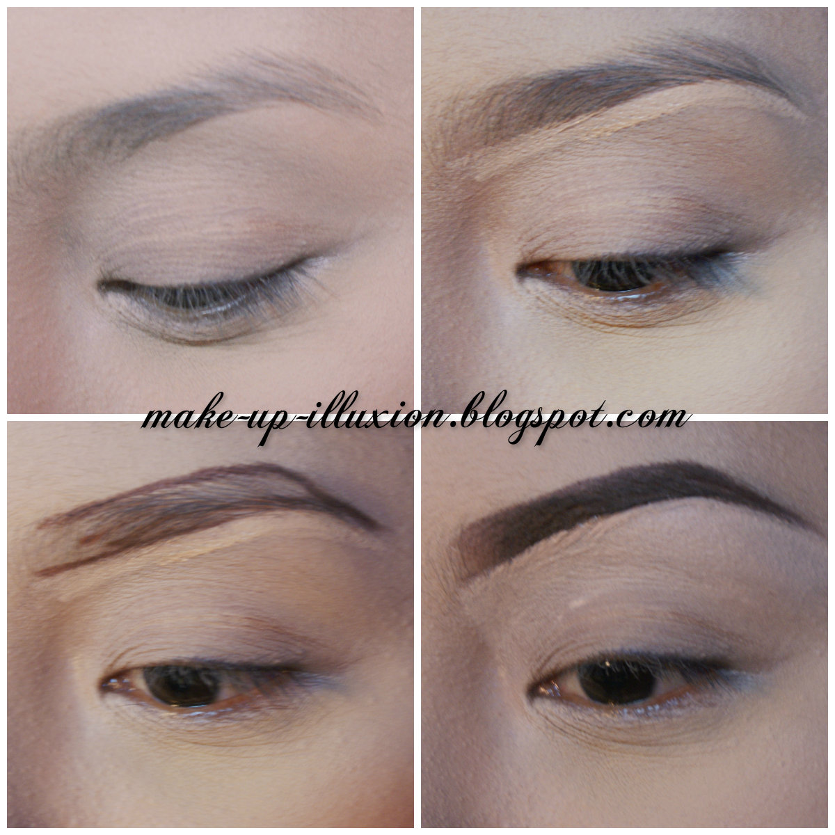Tutorial Cara Membuat Alis / Tutorial How To Make Eyebrow By Dwitia ...