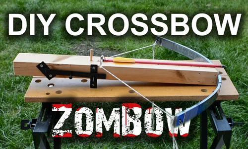 DIY Crossbow - The ZomBow.