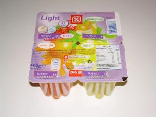 Gelatina light varios sabores DIA