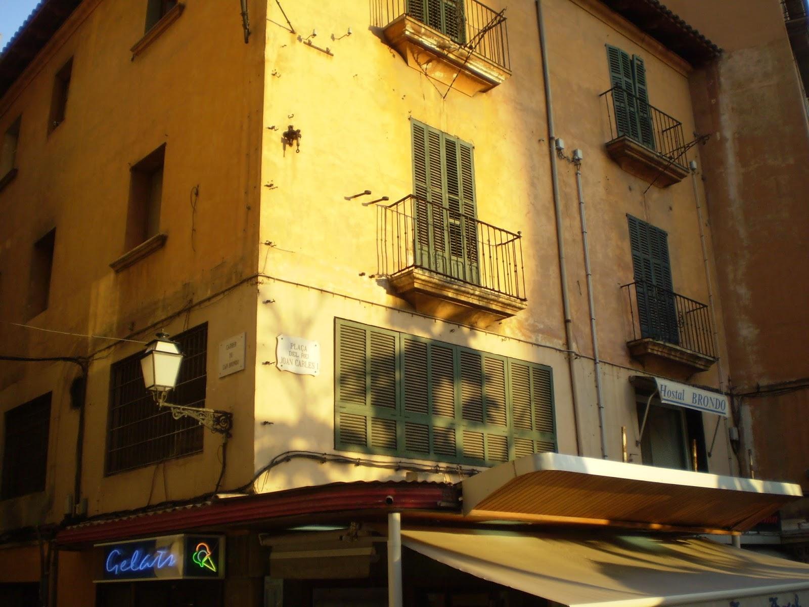 Lugares de Guerra: Itinerario por la ciudad de Palma de Mallorca ...