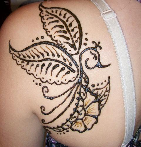 Mehndi Henna Tattoo Designs : Latest mehndi henna tattoos designs for girls