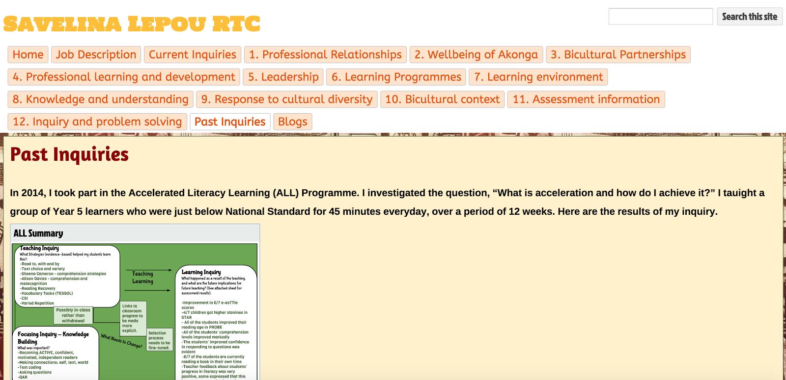 My RTC Portfolio