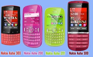 Harga Nokia Asha Semua Tipe Terbaru