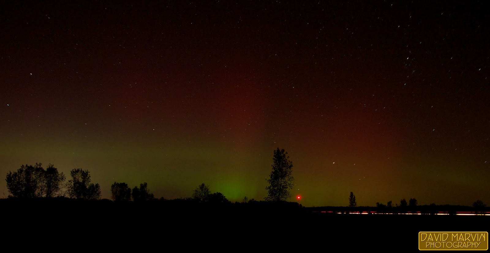 David marvin photography lansing michigan a chance for Chance of seeing northern lights tonight