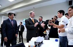 Inaugura UANL Laboratorio de Robótica en Preparatoria de Hidalgo