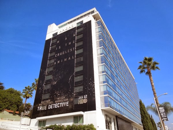 Giant True Detective series premiere HBO billboard