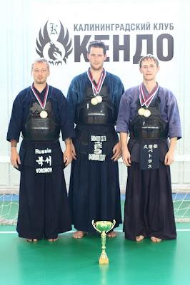 Команда «Феникс» - 1 место на Первом Открытом Чемпионате Калининграда по Кэндо