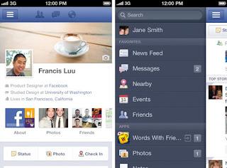 iOS facebook news