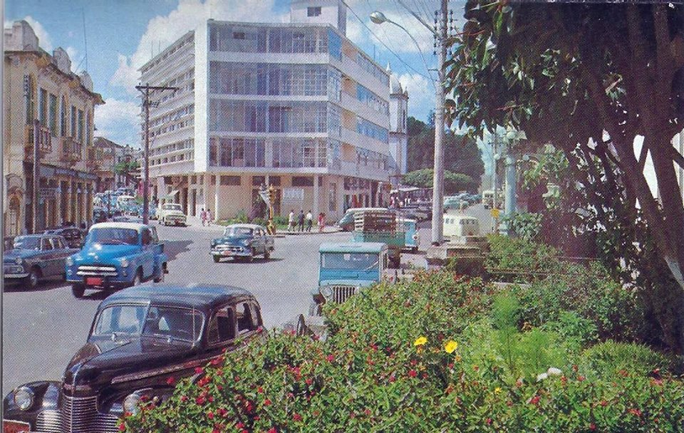 Clube Barbacenense - foto década 60