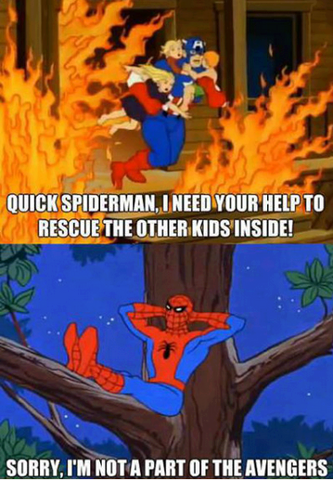 Save Me Spider-Man!