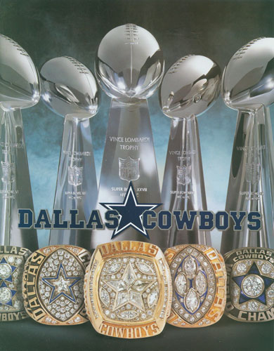 How Many Super Bowls Rings Does Cowboys Have