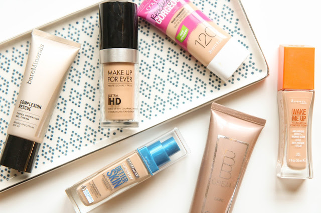 6 Foundations for Dry Skin