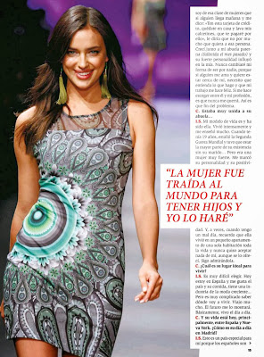 Irina Shayk HQ Pictures Hoy Corazon Spain Magazine Photoshoot February 2014
