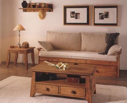 Dicas do mundo da criatividade entre o r stico e o cl ssico for Sofa cama rustico