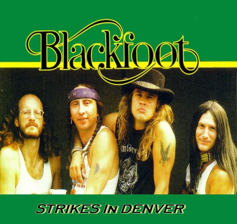 Blackfoot Live Denver CO  1979 256ak