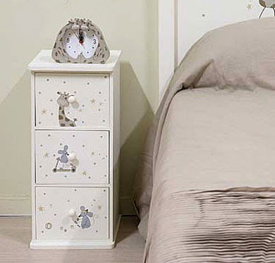 Muebles infantiles por la decoradora experta diciembre 2012 for Mesita noche infantil