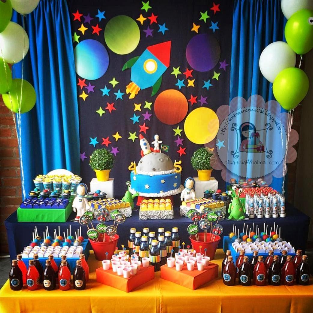 Festa astronauta inspire sua festa mam e festeira blog for Decoracion para aniversario