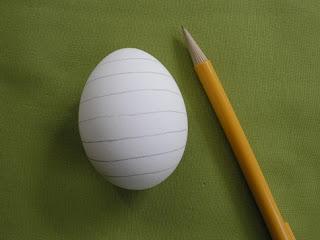 التطريزعلى قشور البيض