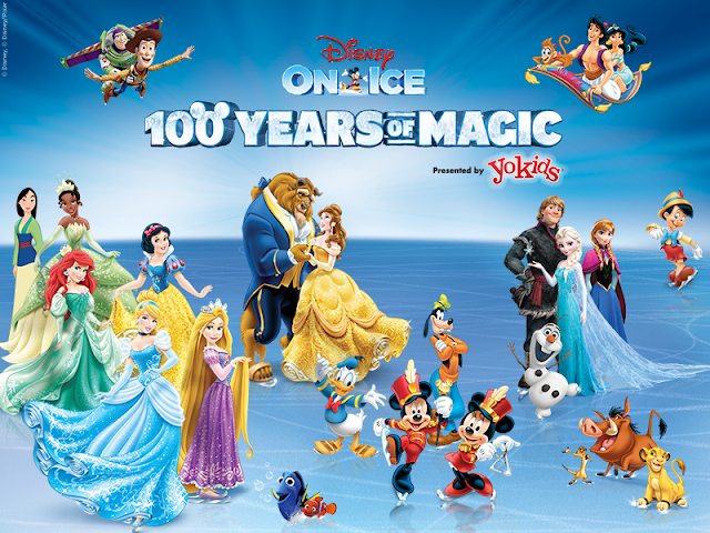 Win Tickets to @DisneyonIce 100 Years of Magic at @TheQArena!