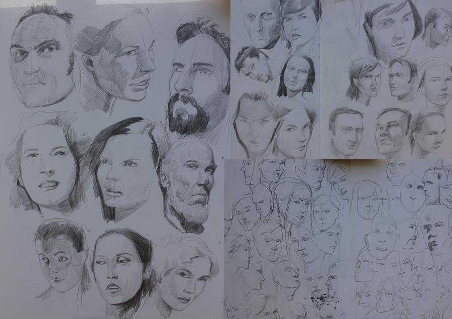 Mac Tire's sketchbook - updated with atelier work!
