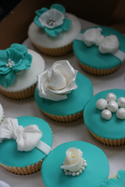 Tiffany Blue Cupcake Boxes