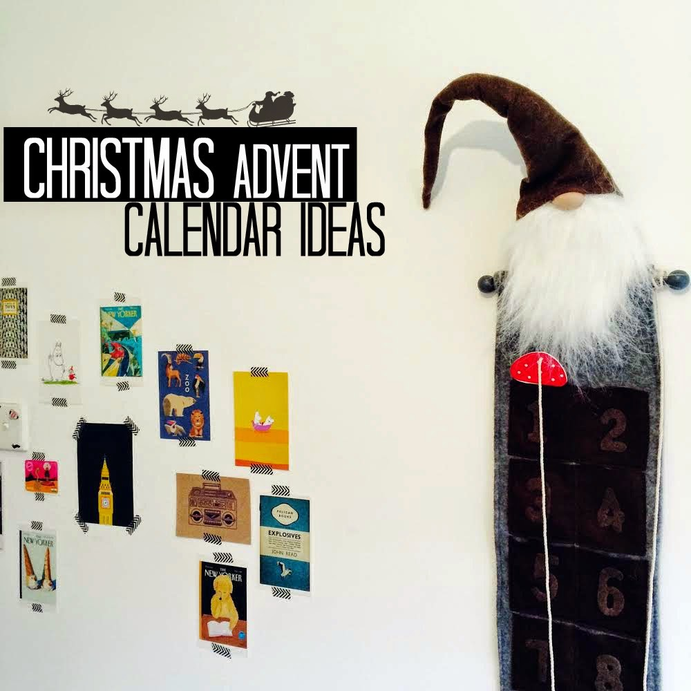 Christmas advent calendar gift ideas