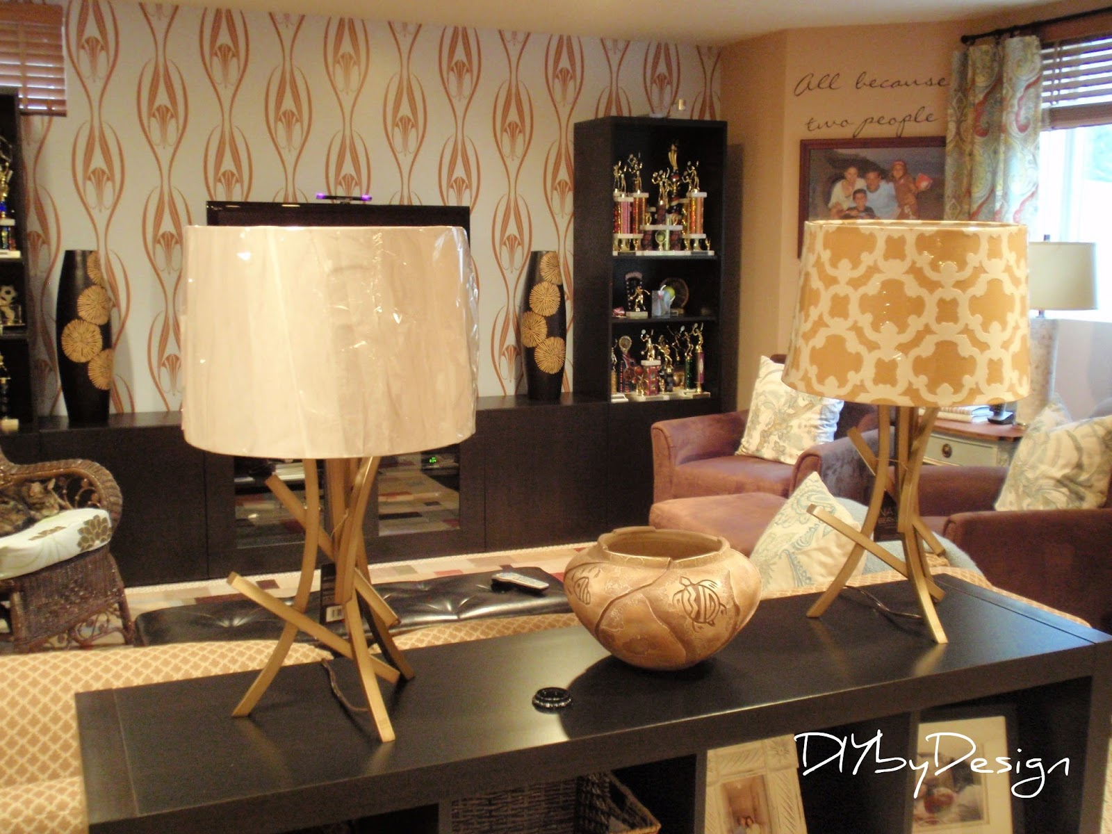 DIY by Design: Nate Berkus Branch Lamps Dilemma