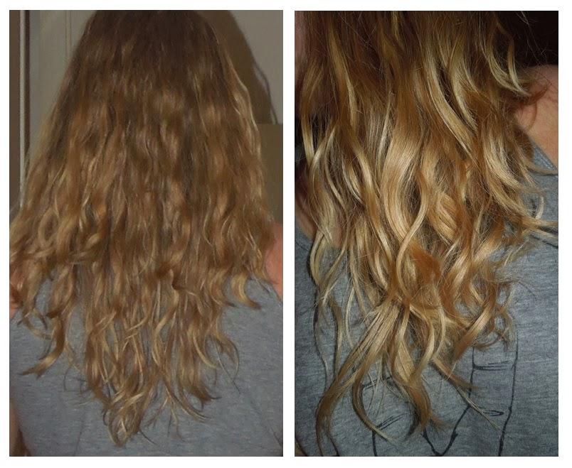 kokosolja hår före efter