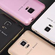 เคส-Samsung-Galaxy-Note-4-รุ่น-เคส-โน๊ต-4-สไตล์เฟรมอลูมิเนียม-หลังโค้งรับตัวเครื่อง-บางเฉียบ-กันกระแทกดี