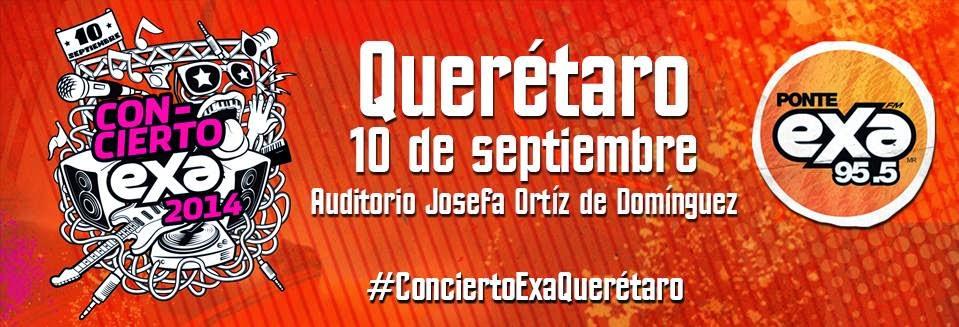 boletos Concierto EXA querétaro 2014