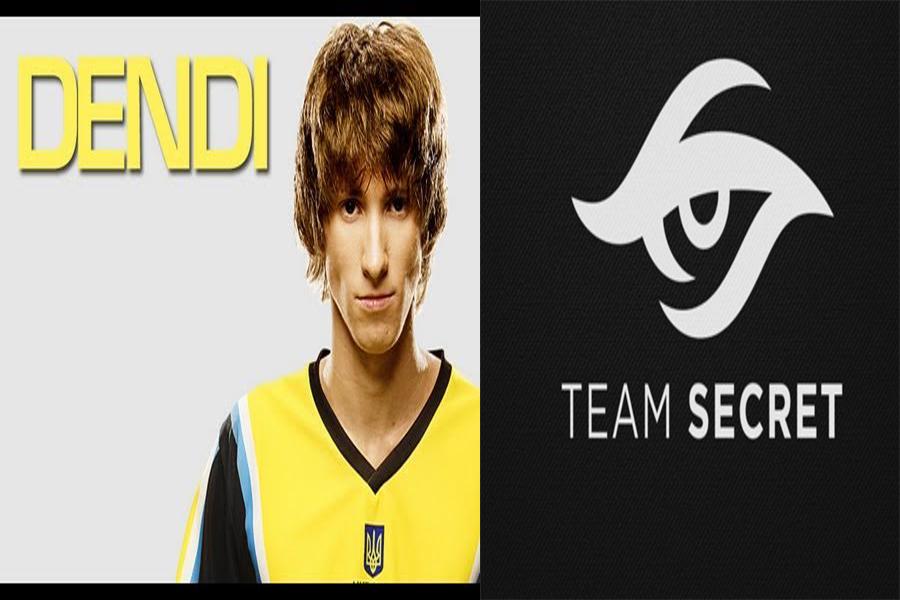 dendi on team secret dota 2