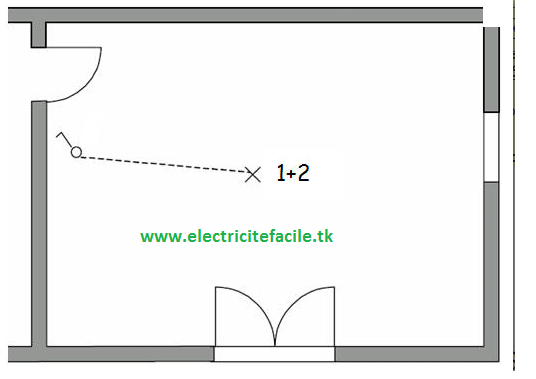 sch u00e9mas  u00e9lectricit u00e9 maison  comment brancher un simple allumage