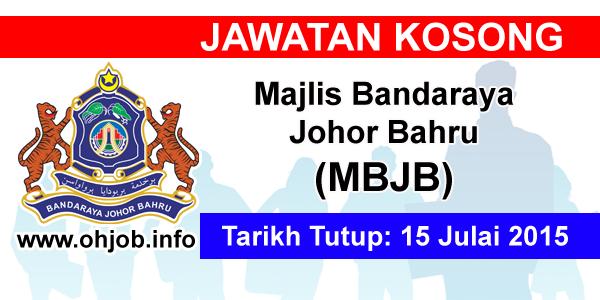 Jawatan Kerja Kosong Majlis Bandaraya Johor Bahru (MBJB) logo www.ohjob.info julai 2015