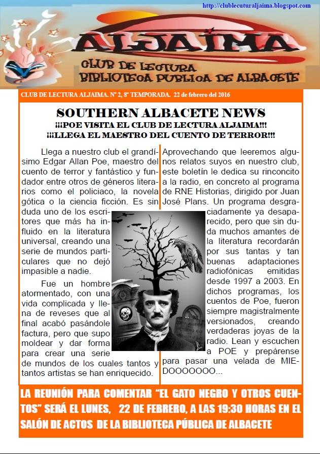 Boletín Edgar Allan Poe