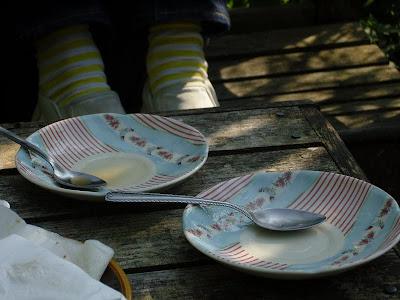English Bone China, Marimekko Socks, Nepenthes Pumps