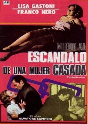 Miedo al escándalo de una mujer casada (Scandalo)(1976)