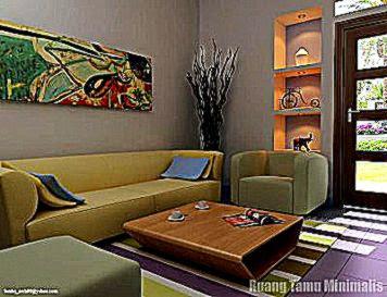 Kumpulan Gambar Dekorasi Ruang Tamu Minimalis  Desain Rumah Minimalis
