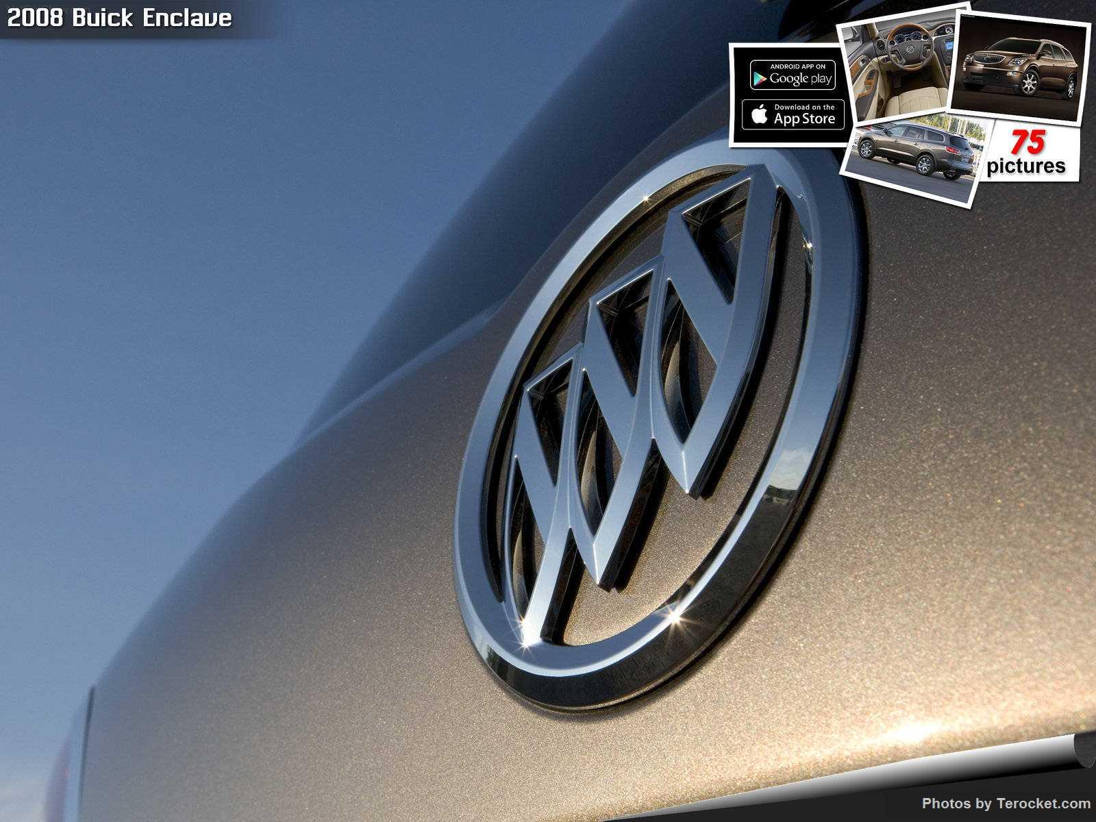 Hình ảnh xe ô tô Buick Enclave 2008 & nội ngoại thất