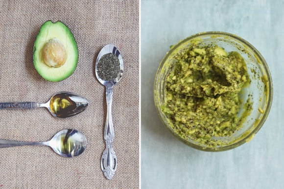 Avocado-peppermint-hair-mask