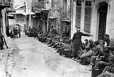 German prisoners in WW2 at Battle of Crete