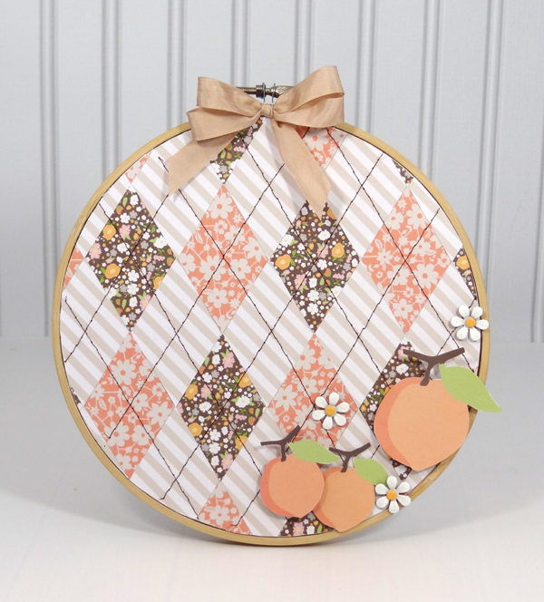Amanda Coleman Chickaniddy Crafts Embroidery Hoop