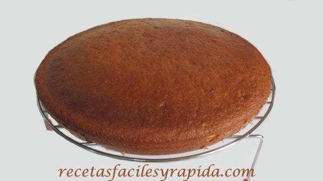receta bizcocho de coco