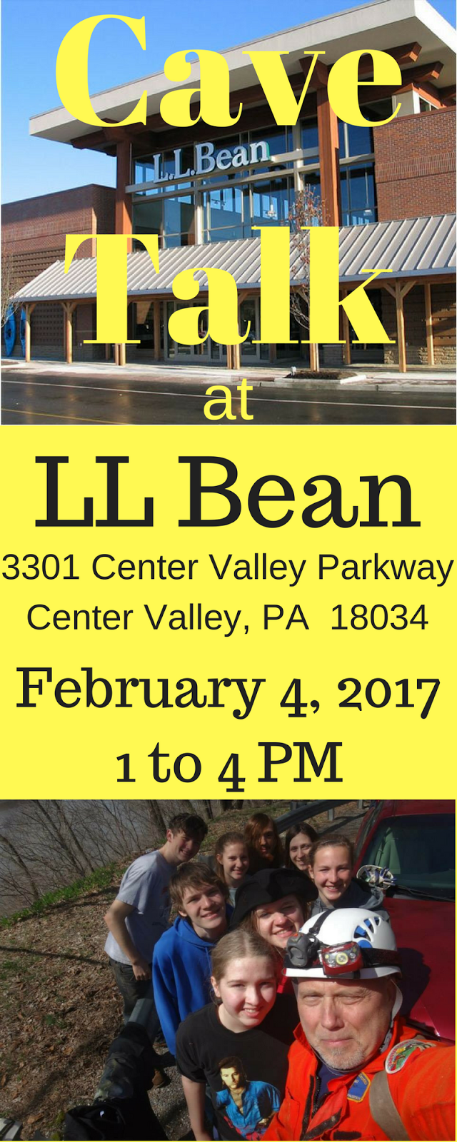 LL Bean Cave Talk