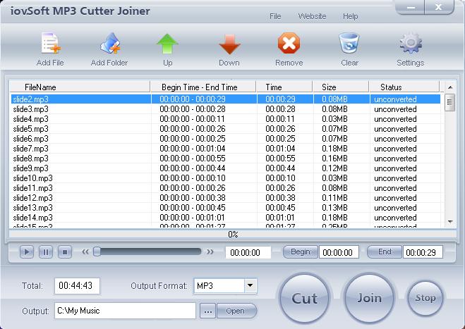 IovSoft MP3 Cutter Joiner Full Serial - Phần Mềm Cắt, Ghép Nhạc MP3. phan..