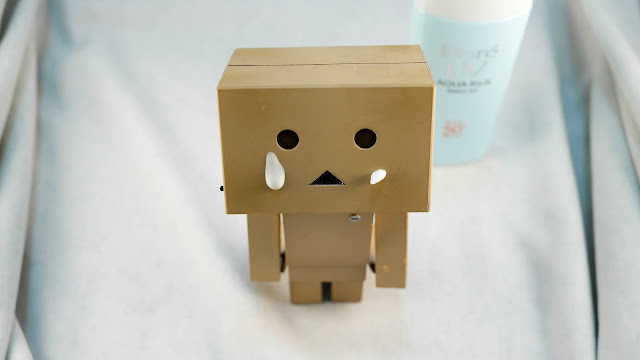 danbo with Bioré UV Aqua Rich Watery Gel