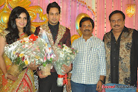 Celebraties at Actor Bharat n Jessy Wedding Reception Photos+%252890%2529 Actor Bharath n Jessy Wedding Photos