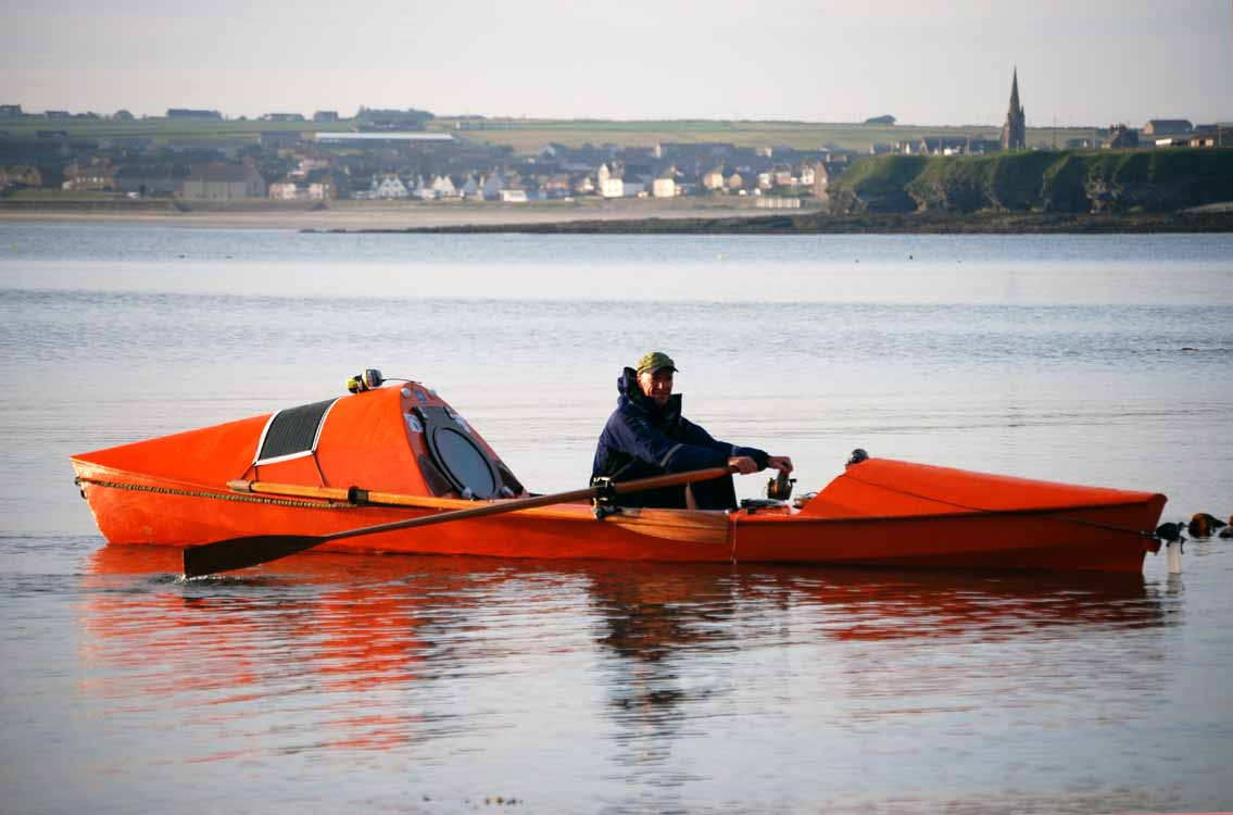 ROWING FOR PLEASURE: Smallest Ocean Rowing Boat?