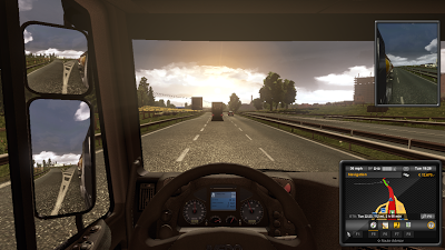 Euro Truck Simulator 2 england