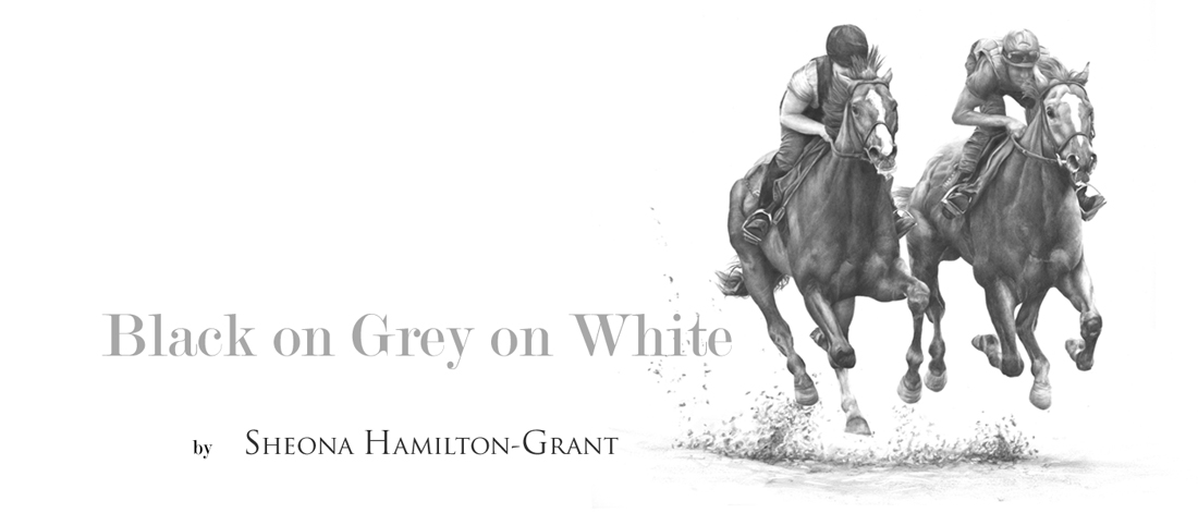 Sheona Hamilton-Grants' Black on Grey on White